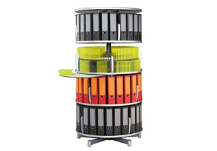 Binder Carousel with 4 Tiers, 33378