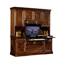 Traditional Credenza with Hutch, 15517