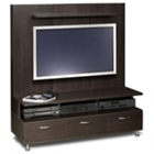 Flat Panel Widescreen TV Entertainment Center, CD00666