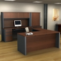 L-Shaped Desk Executive Office Set, 13494