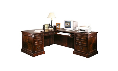 Traditional Right Return L-Desk, 15521