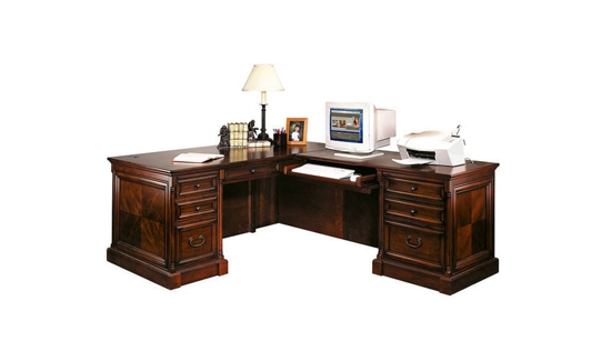 Traditional Right Return L-Desk, 15521