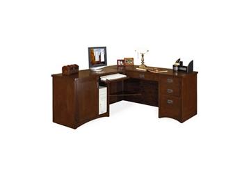 "Left Return L-Desk - 64""W x 74""D, 13533"