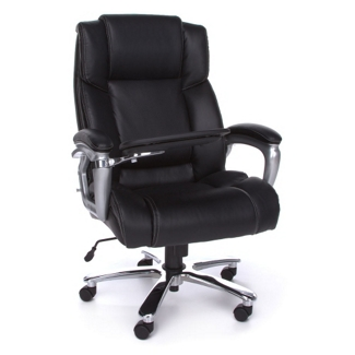 Big and Tall Tablet Arm Computer Chair, 56999