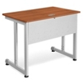 "Modular Computer Desk with Modesty Panel - 36""W x 24""D, 13631"