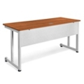 "Modular Computer Desk with Modesty Panel - 60""W x 24""D, 13633"