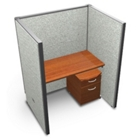 "Single Vinyl Workstation and Mobile File - 48""W x 63""H, 13642"