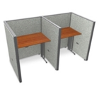 "Double Vinyl Workstation - 74""W x 47""H, 13646"