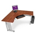 "L-Shaped Workstation - 60""W x 60""D , 13810"