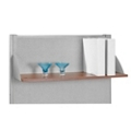 "RiZe 47.25""W Hanging Open Shelf, 20102"