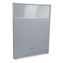 "48""W x 63""H Vinyl Partition with Clear Top, 21221"