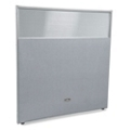 """60""""W x 63""""H Vinyl Partition with Clear Top, 21223"""