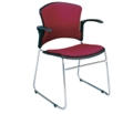 Fabric Guest Chair with Arms, 44181