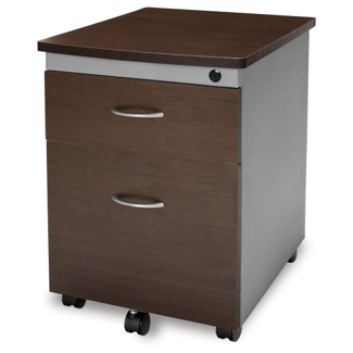 Mobile Two-Drawer Pedestal, 34476