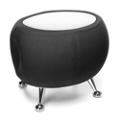 Low Fabric End Table with Laminate Top, 41880
