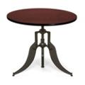 "Modern Adjustable Height Round Table - 36"" Diameter, 44660"