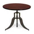 "Modern Adjustable Height Round Table - 36"" Diameter, 44660"