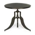 "Modern Adjustable Height Metal Round Table - 32"" Diameter, 44662"