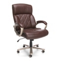 Big and Tall Tufted Bonded Leather Executive Chair , 50003