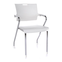 Heavy Duty Modern Plastic Stack Chair, 51005