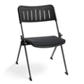 Fabric Seat Nesting and Stacking Chair, 51559