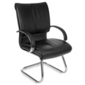 Leather Cantilever Guest Chair, 53009