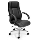 High Back Leatherette Executive Chair, CD06541