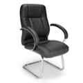 Executive Leatherette Guest Chair, 56965