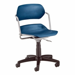 Armless Plastic Swivel Chair, 57054