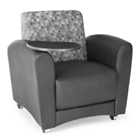 Reception Chair with Tablet, CD06548