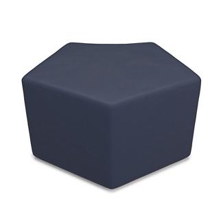 "Modular Pentagonal Stool - 30""W, 76432"