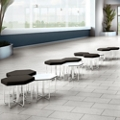 Hexagonal Seating & Tables - Twelve Piece Set, 86270