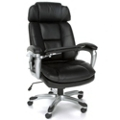 Tablet Arm Bonded Leather Chair with Headrest, 45010