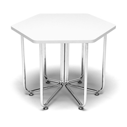 "Hexagonal Table - 22.75""W, 41987"