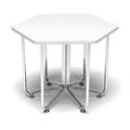 "Hexagonal Table - 22.75""W, 41987"
