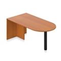 "Contemporary Peninsula Desk - 71""W, 14721"