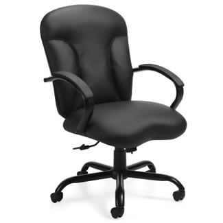 Bonded Leather Big and Tall Executive Chair, 56022