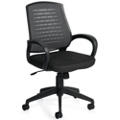 Mesh Back and Fabric Seat Task Chair, 56036