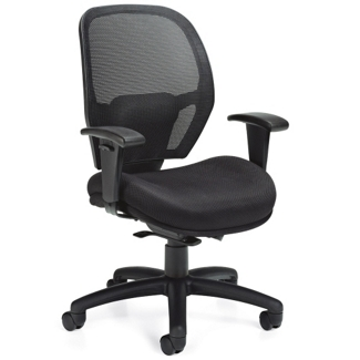 Weight Sensing Synchro Tilt Mesh Back Task Chair, 56037