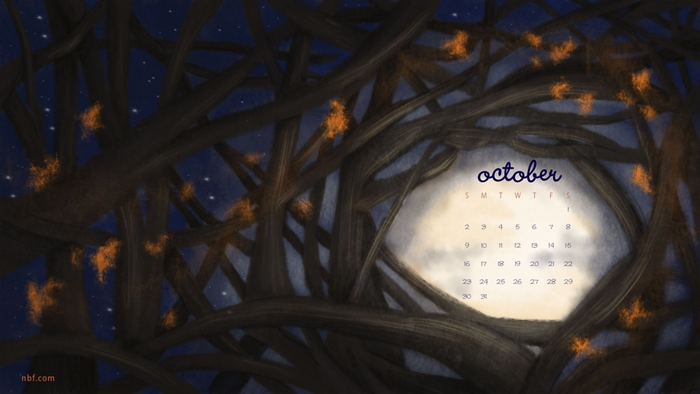 october nbf wallpaper