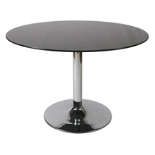 "Glass Top Round Conference Table - 44"" Diameter, 41685"