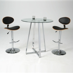 Hydraulic Barstool Table Set, 86032