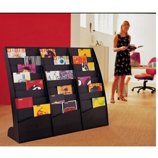 Contemporary Literature Display - Set of Three, 33004