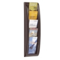 Five Compartment Wall Mount Brochure Display, 33398