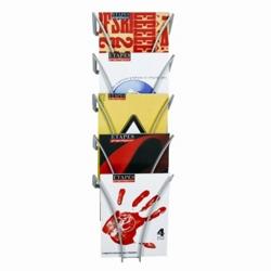 Modern Wall Mount Magazine Rack, 33399
