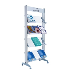 Large Single Sided Literature Display , 82506