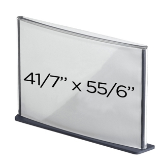 "Box of 6 4"" x 6"" Sign Holders, 87762"