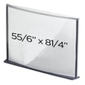 "Box of 6 6"" x 8"" Sign Holders, 87763"