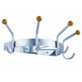 Crown Coat and Hat Wall Rack, 91448