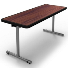 "Mobile Flip Top Table 48""W x 24""D, 44271"